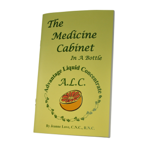 Book: Medicine Cabinet in a Bottle