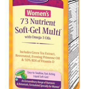 Women's 73 Nutrient Soft-Gel Multi- Vitamin
