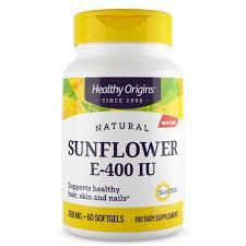 Vitamin E, Sun Flower